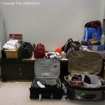 [Canada2008] 出發前一天至LeBags選衣服